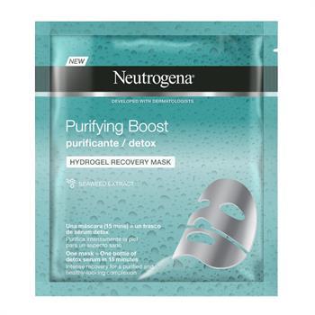 Neutrogena Purifying Detox Boost Hydrogel Recovery Mask Αναδόμησης Προσώπου 30ml