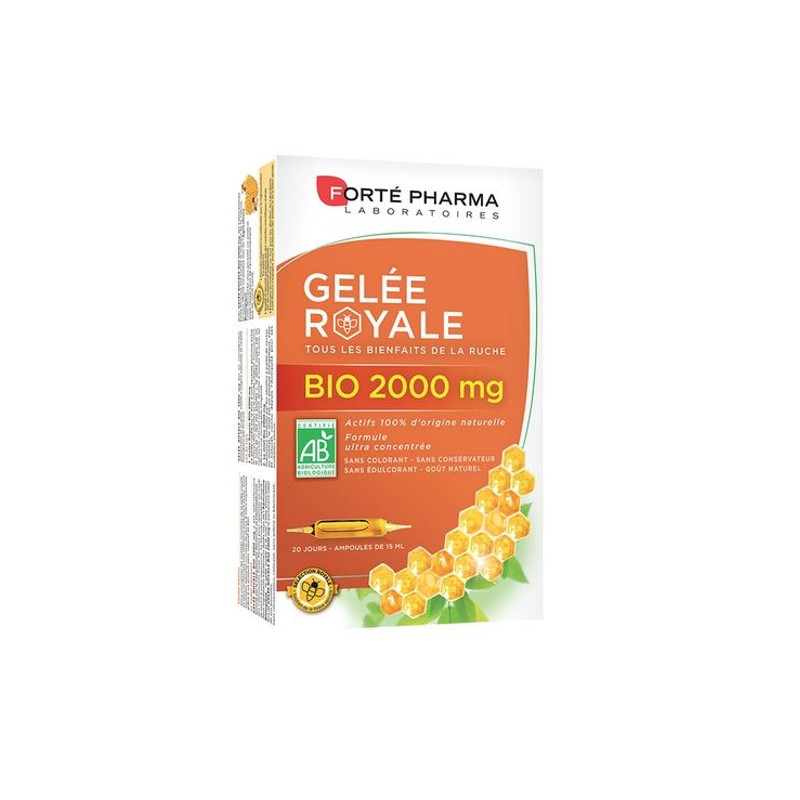 Forte Pharma Gelee Royale Bio 2000 mg 20 amp x 15ml
