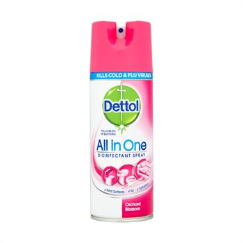 Dettol All In One Απολυμαντικό Spray Orchard Blosson 400ml