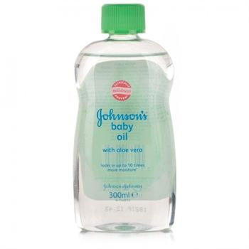 Johnson's Baby Oil Aloe Vera 300ml