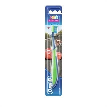 Oral-B Kids Cars 3-5 Ετών Soft Παιδική Οδοντόβουρτσα 1τμχ
