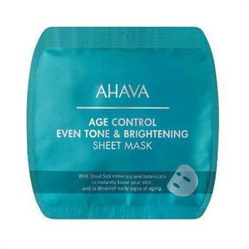 Ahava Age Control Even Tone & Brightening Sheet Mask 17gr