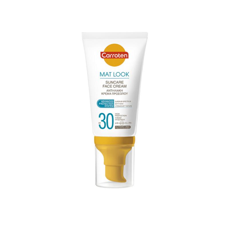 Carroten Mat Look Suncare Face Cream SPF30 50ml