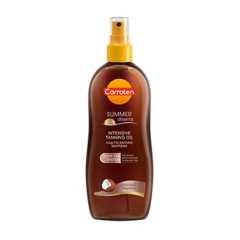 Carroten Intensive Tanning Oil Spray Summer Dreams Coconut SPF0 200ml