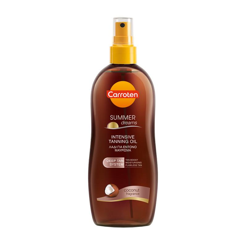 Carroten Intensive Tanning Oil Spray Summer Dreams Coconut SPF0 200ml