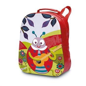 Oops Happy Backpack Μαλακή Τσάντα Πλάτης Πασχαλίτσα