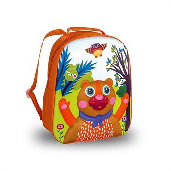 Oops Happy Backpack Μαλακή Τσάντα Πλάτης Αρκουδάκι