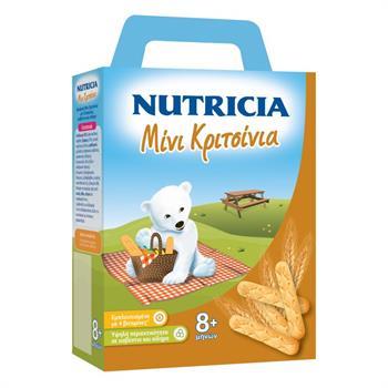 Nutricia Μίνι Κριτσίνια 8m+ 180g