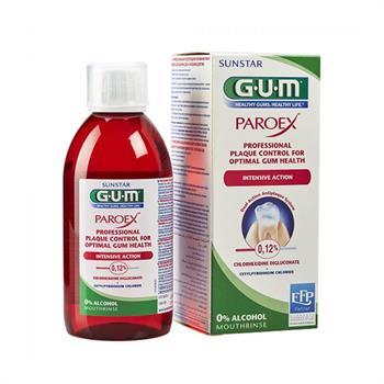 Gum 1784 Paroex Στοματικό Διάλυμα 0,12% CHX & 0,05% CPC 300ml