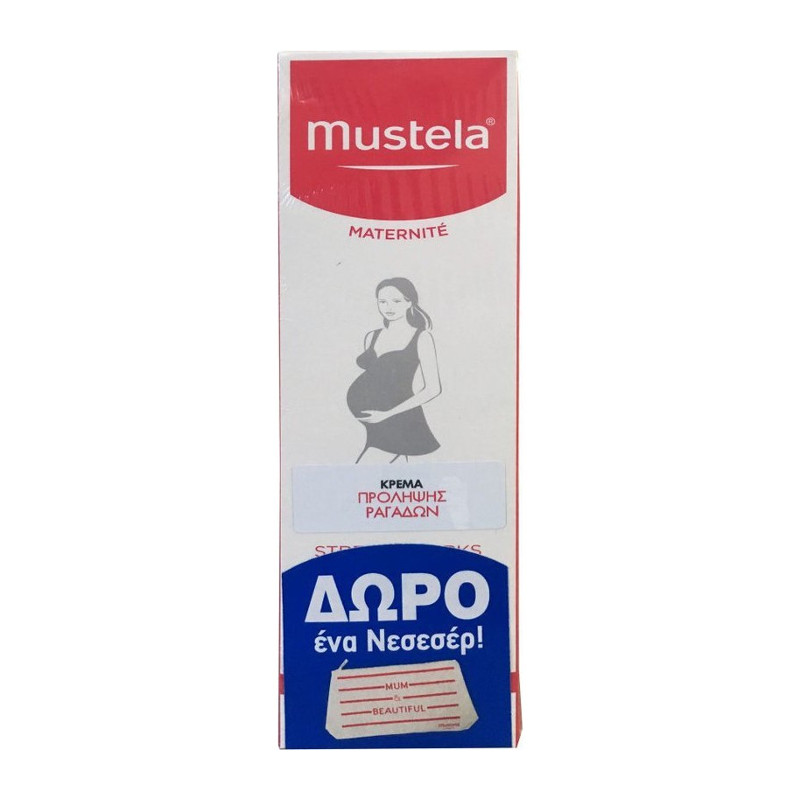 Mustela PROMO Stretch Marks Prevention Cream 150ml & ΔΩΡΟ Νεσεσερ