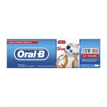 Oral B Star Wars Junior Toothpaste 6+ Ετών 75ml