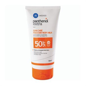 Panthenols Extra Sun Care Face & Body Milk SPF50 150ml
