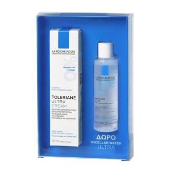 La Roche Posay PROMO Toleriane Ultra Cream 40ml & Δώρο Eau Micellaire Ultra 50ml