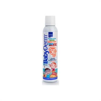 Babyderm Invisible Sunscreen Spray for Kids With Vitamin C SPF50 200ml
