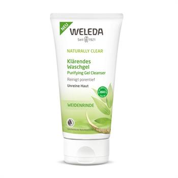 Weleda Naturally Clear Τζελ για Βαθύ Καθαρισμό 100ml
