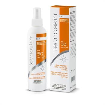 Tecnoskin Sun Protect Dry Touch Oil SPF50 Spray 200 ml