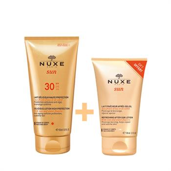Nuxe Promo Sun Delicious Lotion High Protection SPF30 150ml & ΔΩΡΟ Refreshing After-Sun Lotion Face & Body 100ml.