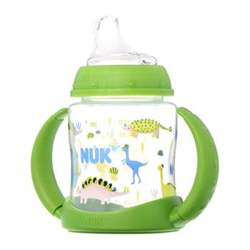 Nuk First Choice Learner Bottle Πράσινο Δεινόσαυροι 6-18m 150 ml (10.743.793)