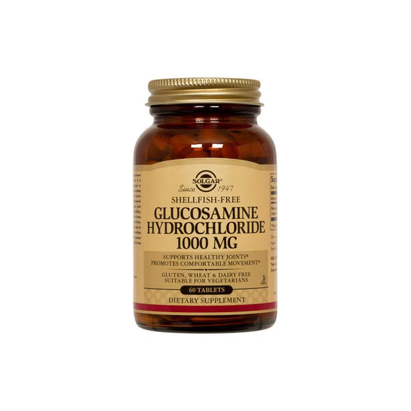 Solgar Glucosamine HCL 1000mg, 60 tabs