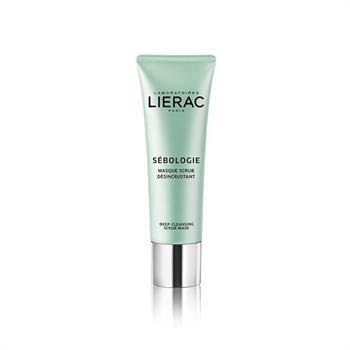 Lierac Sebologie Deep-Cleansing Scrub Mask Απολεπιστική Μάσκα για Βαθύ Καθαρισμό, 50ml