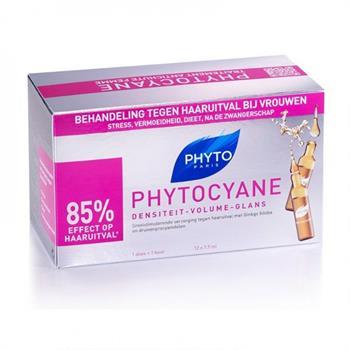 Phyto Phytocyane Αγωγή Κατά της Τριχόπτωσης 12x 7.5ml