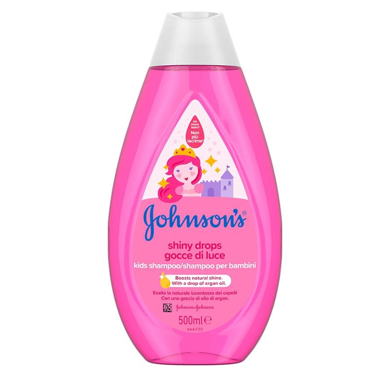 Johnson's Κids Shampoo Shiny Drops 500ml