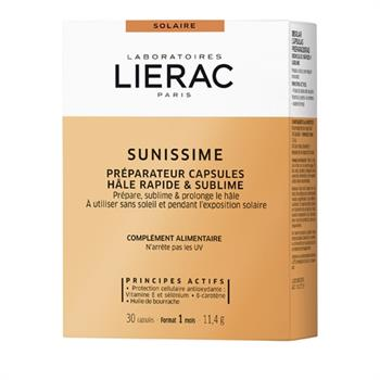 Lierac Sunissime Capsules Bronzage - Κάψουλες Ενεργοποίησης Μαυρίσματος - 30 caps