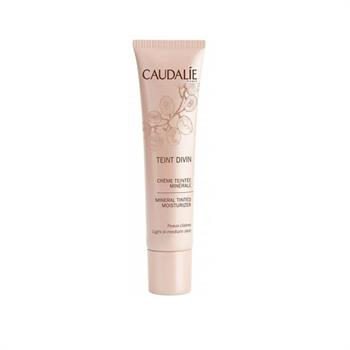Caudalie Teint Divin Tinted Moisturizer Light to Medium Skin Ενυδατική Κρέμα με Χρώμα 30ml