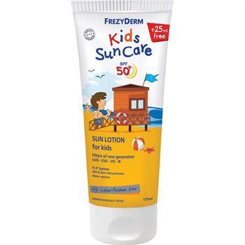 Frezyderm Sun Kid's Lotion SPF50+ Παιδικό Αντηλιακό Γαλάκτωμα Προσώπου & Σώματος 175ml