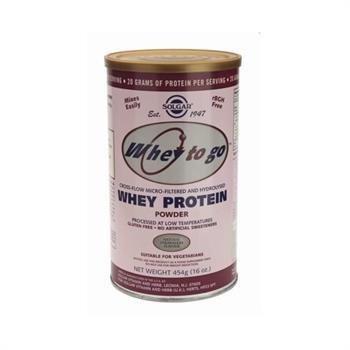 Solgar Whey to Go Protein Strawberry 454gr