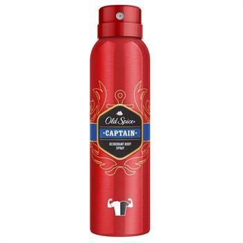 Old Spice Captain Deodorant Spray Αποσμητικό Σπρέι για Άνδρες 150ml