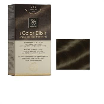 Apivita Color Elixir Βαφή Μαλλιών Ξανθό Σαντρέ Μελί 7.13
