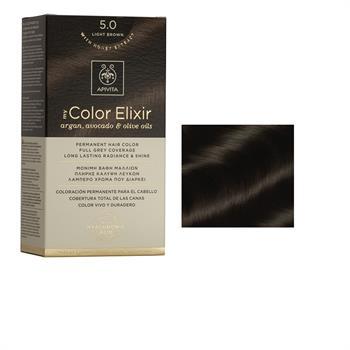 Apivita Color Elixir Βαφή Μαλλιών Ανοιχτό 5.0