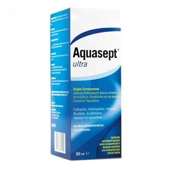 Meyers Aquasept Ultra Υγρό Καθαρισμού Φακών Επαφής 60ml