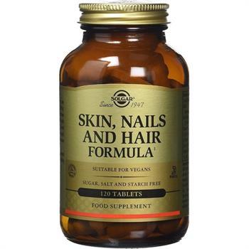 Solgar Skin Nails & Hair Formula Συμπλήρωμα Διατροφής για την Υγεία των Μαλλιών Νυχιών & Δέρματος 120tabs