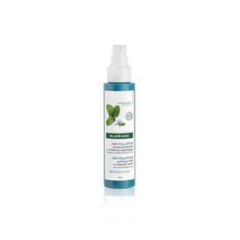 Klorane Anti-Pollution Purifying Mist with Aquatic Mint Καθαριστικό Σπρέι Μαλλιών 100ml