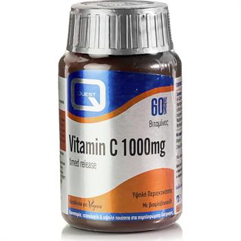 Quest Vitamin C 1000mg Timed Release για την Ενίσχυση του Ανοσοποιητικού 60caps