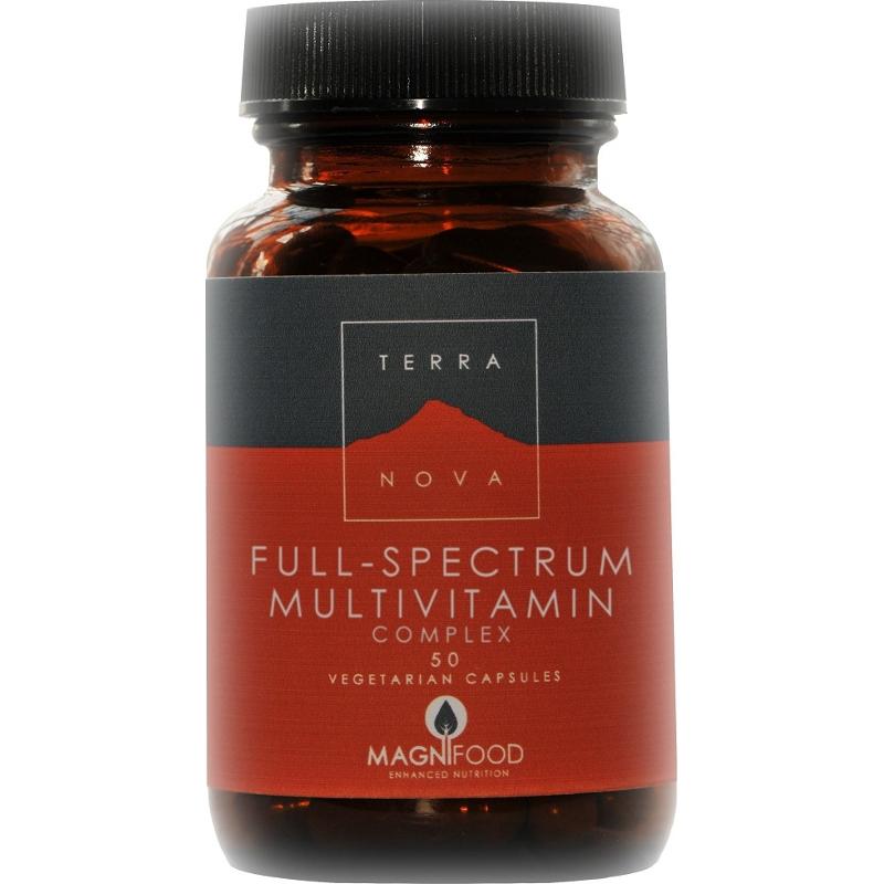 Terranova Full-Spectrum Multivitamins Πολυβιταμίνη 50caps