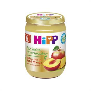 ΗiPP Βρεφικό Γεύμα με Νεκταρίνι Μήλο & Μάνγκο 190gr