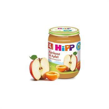 HiPP  Βρεφική Φρουτόκρεμα με Μήλο και Βερίκοκο 190gr