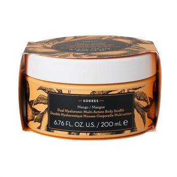 Korres Dual Hyaluronic Multi Action Body Souffle Mango 200ml