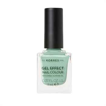 Korres Gel Effect Nail Colour 35 Mint Green