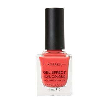 Korres Gel Effect Nail Colour 43 Peach Sorbet