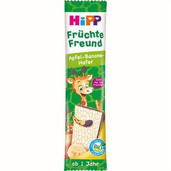HiPP Παιδική Μπάρα Φρούτων με Μήλο Μπανάνα Βρώμη 23gr