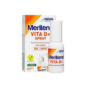 Nestle Meritene Vita D+ spray Συμπλήρωμα διατροφής με βιταμίνη D+ σπρέι 18ml
