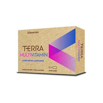 Genecom Terra Multivitamin Πολυβιταμίνη με Q10 30tabs