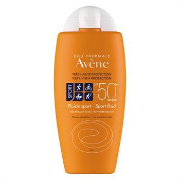 Avene Sun Fluid Sport Αντηλιακό για πρόσωπο και σώμα SPF 50+ 100ml