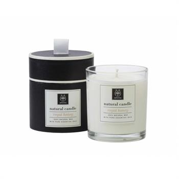 Apivita Natural Candle With Royal Honey 235gr