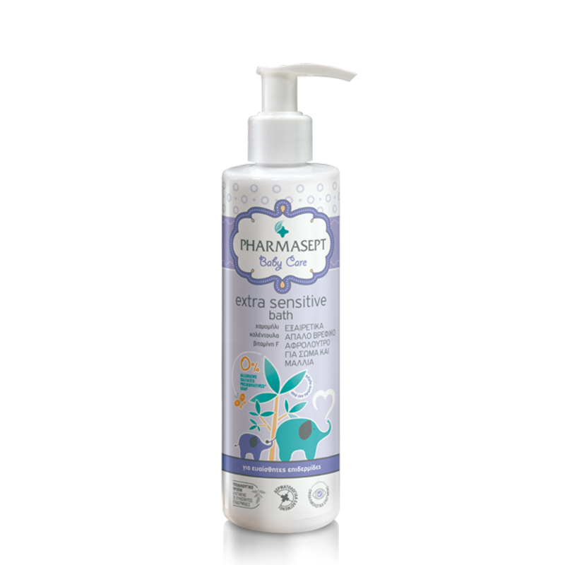 Pharmasept Baby Care Extra Sensitive Bath 250ml