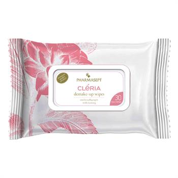 Pharmasept Cleria Ηypoallergenic Demakeup Wipes 30τμχ